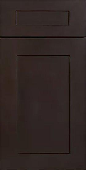 kitchen cabinets espresso shaker