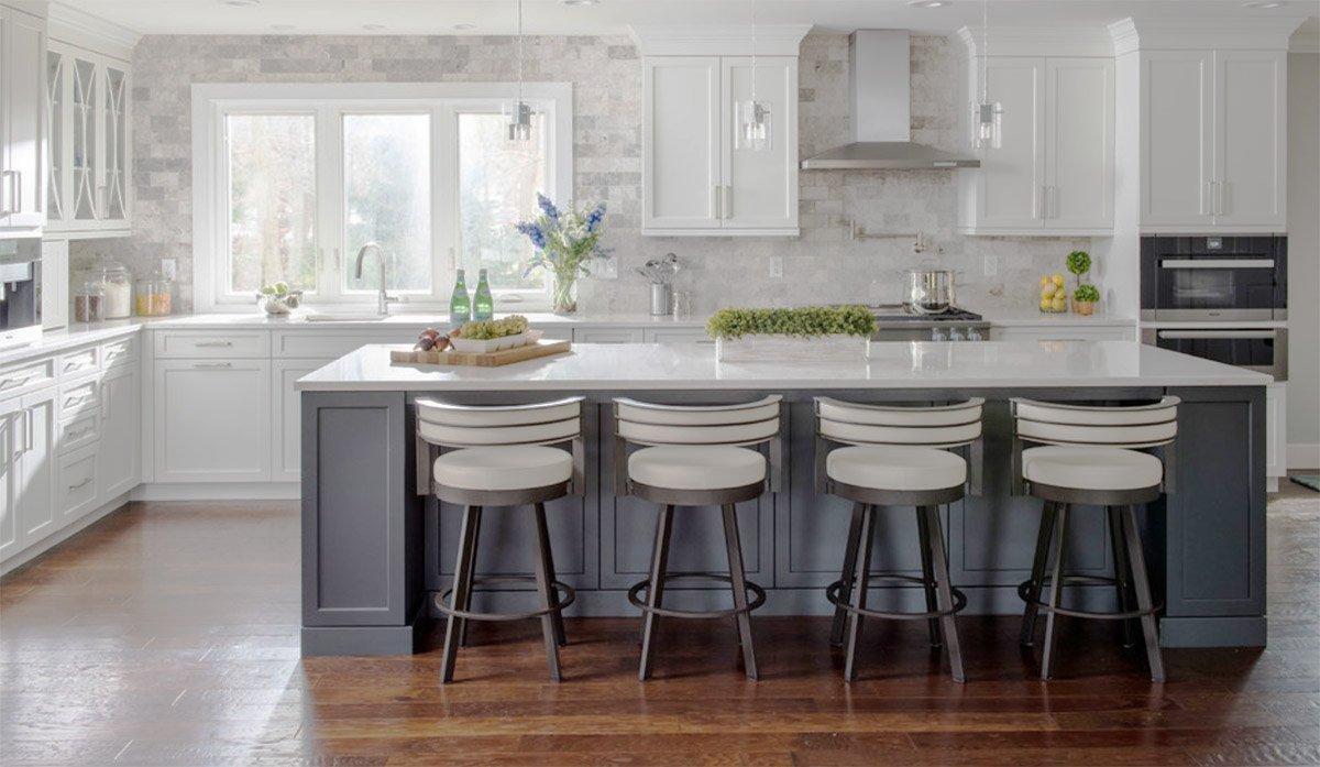 White Shaker Kitchen